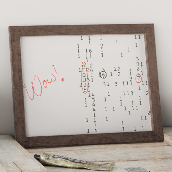The Wow Signal Art Print
