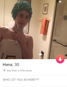 Tinder Profile by Hana