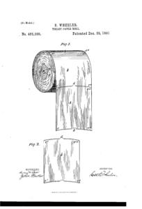Original toilet Paper US465588-0